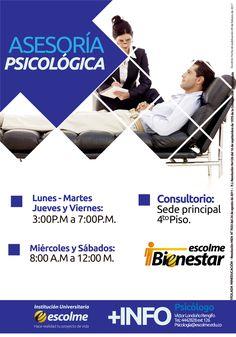 @Escolmeeduco ¡Ya puedes solicitar tu asesoría psicológica!