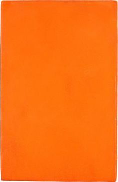 Untitled Orange Monochrome - Yves Klein