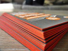 Carte de visite letterpress 3 couleurs 3 - Print Hunter
