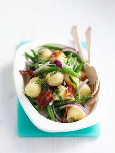 salade van nieuwe #aardappel en #boontjes