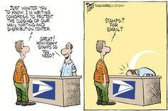 56 Best Postal Cartoons Images Postal Going Postal Usps Humor