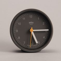 The Round Braun Clock is the perfect example of an updated classic. It's the best way to accurately describe this timepiece. The original design by Dieter Rams is an unarguable classic to be studied b