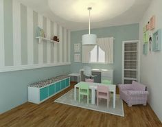 Speech therapy clinic - Interior design simulation