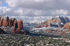 Wish I took this picture!   Sedona Snow Storm, March 2012