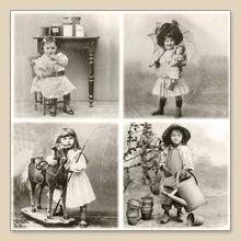 4 kids vintage