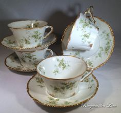 Theodore Haviland Limoges Schleiger 150B by BougainvilleaLane