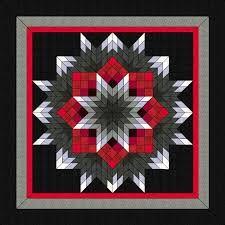 Image result for Starburst quilt pattern