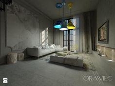 KAMIENICA Sosnowiec - Salon, styl industrialny - zdjęcie od Dorota Orawiec-Mazur