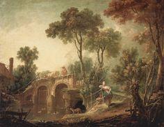 Η γέφυρα 1751 Μουσείο Λούβρου