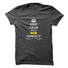 Keep Calm and Let SCH Handle it - #university tee #tshirt redo. ADD TO CART => https://www.sunfrog.com/LifeStyle/Keep-Calm-and-Let-SCH-Handle-it.html?68278