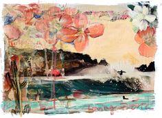 Greta Chicheri - Surf Art. Mixed Media
