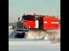 CAMINHÃO DO GELO #Ice Truck SIBÉRIA#