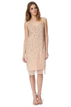 Rebecca Taylor Beaded Cami Dress, $995, available at Rebecca Taylor.