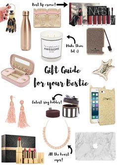 Gift Guide for Your Bestie