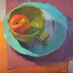 Carol Marine's Painting a Day: Overlapping