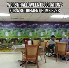 Halloween At A Retirement Home