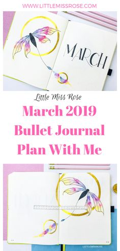 For March 2019 I've decided to use a dragonfly theme for my bullet journal set up and I absolutely adore it! Check it out here! February Bullet Journal, Bullet Journal Printables, Bullet Journal How To Start A, Bullet Journal Layout, Bullet Journal Inspiration, Bullet Journals, Journal Ideas, Journal Challenge, Journal Prompts
