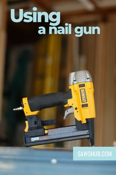 Nail guns can increase efficiency in projects both in construction and at home, so it is important to know what they do. Here we have a simple breakdown of how a nail gun tool actually works. #sawshub #nails #nailgun #construction Woodworking Projects Diy, Diy Projects, Types Of Fire, Different Types Of Nails, High Tension, Cheap Tools, Kinetic Energy, Nail Gun, Great Gifts For Men