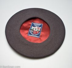 The world's finest Beret, the Elosegui Basque Beret, from Tolosa, Spain.  Imported by: www.rongreer.com  $39.50