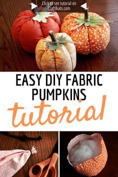 Fall Pumpkin Crafts, Easy Fall Crafts, Diy Pumpkin, Thanksgiving Crafts, Fall Diy, Fall Pumpkins, Diy Crafts, Decor Crafts, Adornos Halloween