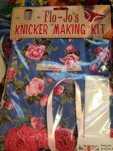 Knicker making kit, Liberty's