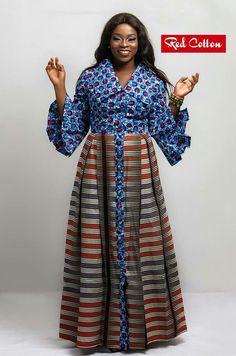 African Fashion Ankara, African Inspired Fashion, Latest African Fashion Dresses, African Print Fashion, African Attire, African Wear, African Women, Long African Dresses, African Print Dresses