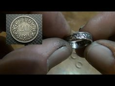 A few tips on how to prevent marring up the inside of your coin rings. https://www.youtube.com/watch?v=mf06xpTns3w Double sided rings for begi...