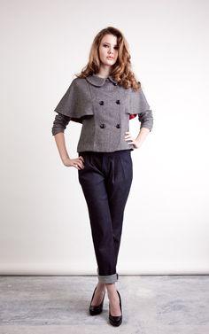 Watson Jacket - Papercut PatternsPleated Pants (discontinued)
