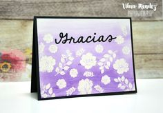 Paper with Life: Blog Hop Gracias con Latina Crafter