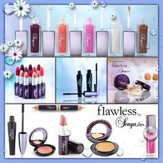 Flawless by Sonya. Make up range to make you look amazing at http://www.be-forever.de/aloevera-wellness-shop/