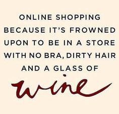 I looooove this lol   I such am online shopper addict