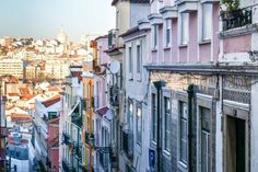 Lisbon, Portugal: The Best of the City in 2 Days - the unending journey Day Trips From Lisbon, Lisbon Portugal, Journey, Street, City, Image, Laundry, Layout, Laundry Folding Station