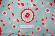 Premier Prints Suzani Twill Printed Cotton Drapery Fabric in Harmony Red $7.48 per yard