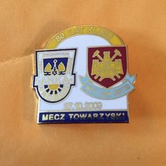 West Ham Utd Badge Crest Pin