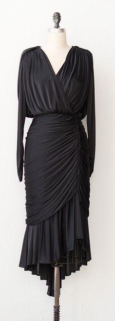 vintage 1980s dress | 80s dress