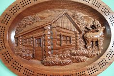 Gifts For Dad, Fathers Day Gifts, Cribbage Board, Cribs, Board Games, Boards, Carving, Wood, Dad Gifts