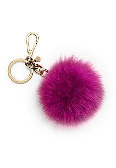 MICHAEL Michael Kors Faux Fur Pom Pom Key Chain. // I don't even know what this is. And I'm a little offended it was suggested for me.