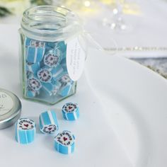 Personalised Wedding Table Decor Favours