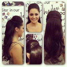 #pony #hair #inspiration #salon #hairup #updo #volume #curls #voodou #voodouliverpool