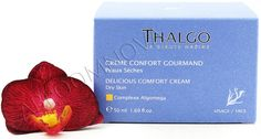 Thalgo Delicious Comfort Cream - Creme Confort Gourmand restores suppleness and comfort and is an ideal face cream for dry skin. Probably one of the best cream for dry face complexion - a real treat for your skin during the colder seasons. #Thalgo #skincare #beauty #dryskin #facecream