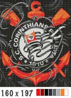 Bandeira taqueada do Corinthians   BLOG DE PIPAS