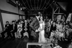 Cain Manor Wedding Ceremony - First Kiss Cain Manor, First Kiss, Wedding Ceremony, Wedding Photos, Concert, Photography, Marriage Pictures, Photograph, Fotografie