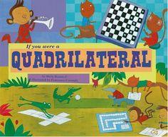 math fun, books, everyday live, quadrilater math, school idea, math geometri, book series, math journals, geometry