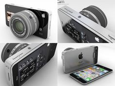 Published by ADR Studio, the iCam concept is rumored to be present in the iPhone 5 (yes, iPhone 5). Simply put, the iCam is case which can snap on to an iPhone 5 to turn it into a high-end DSLR. It includes interchangeable lenses, a huge image sensor, hardware controls, a preset wheel and it would use the iPhone 5 as an image processor.