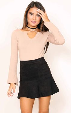 Showpo Know The Night Skirt in black - 14 (XL) Skirts Dinner Outfits, Night Outfits, Casual Outfits, Cute Outfits, Outfit Night, Latest Fashion For Women, Latest Fashion Trends, Womens Fashion, Fashion Fashion