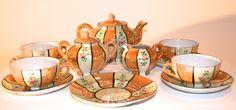 Vintage Luster Ware Child's Tea Set | Vintage Duds and Decor