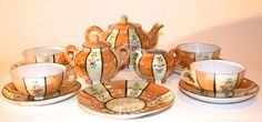 Vintage Luster Ware Child's Tea Set | Vintage Duds and Decor