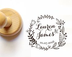 WEDDING STAMP, Custom Wedding Stamp, Personalized Wedding Stamp, Invitation Stamp, Calligraphy Wedding Stamp, Wedding Stamps by TuSelloPersonalizado on Etsy https://www.etsy.com/uk/listing/507768700/wedding-stamp-custom-wedding-stamp