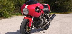 Ducati ST Cafe Racer Front Fairing, Front Fairing Bracket and Windshield Cafe Racer Handlebars, Cafe Racer Headlight, Ducati Cafe Racer, Racing News, Drag Racing, Cosmic Web, Windshield Cover, News Cafe, Photo Story