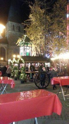 Weihnachtsmarkt (christmas market) NRW Essen Germany